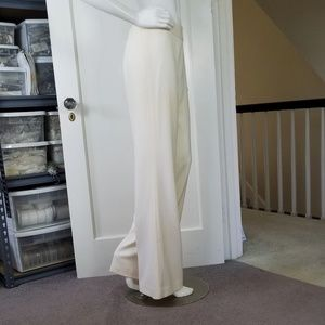 Ralph Lauren Ivory Wool Trousers